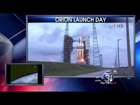 WAAY 31 Newscast - Orion Launch Day