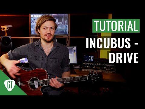 Incubus - Drive | Gitarren Tutorial Deutsch