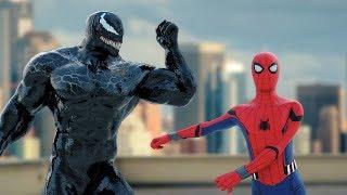 VENOM & Spider-man (Homecoming) Fortnite Dance (Floss/Hype)
