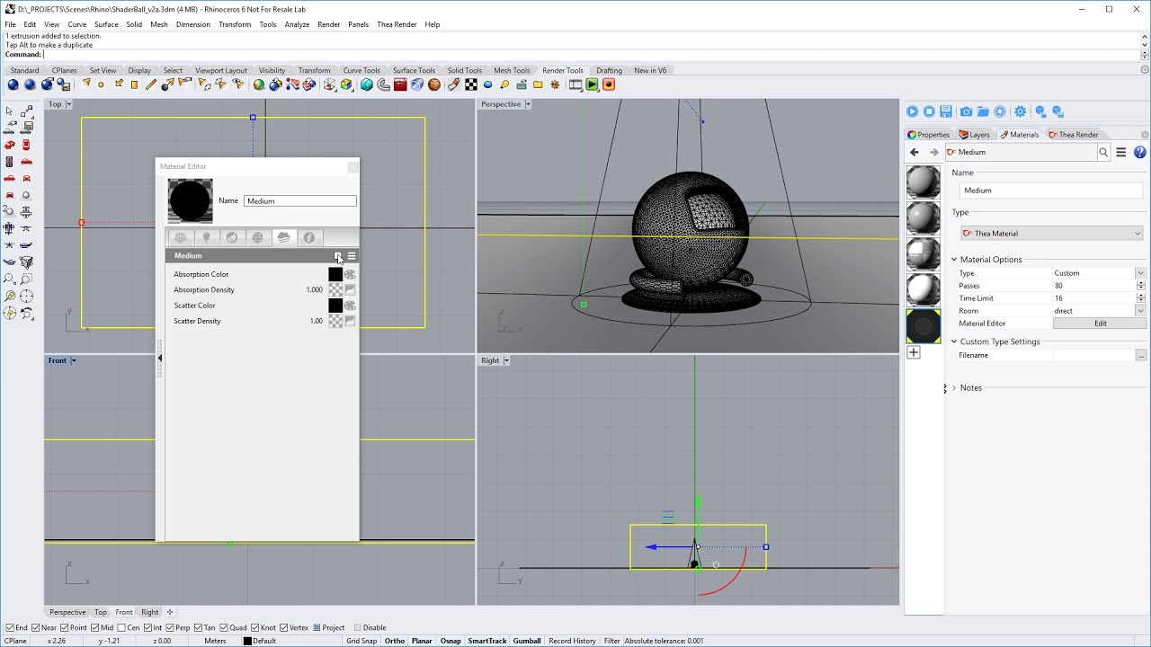 Creating fog with Thea for Rhino » Thea Render