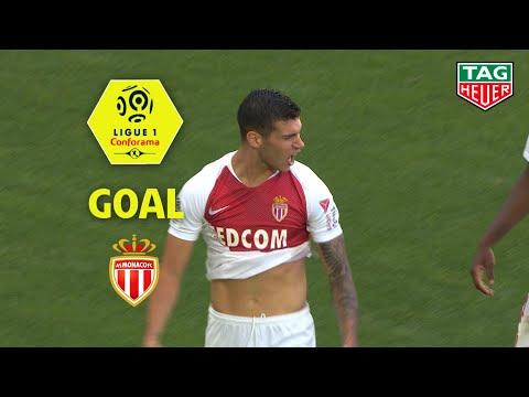 Goal Pietro PELLEGRI (63') / Girondins de Bordeaux - AS Monaco (2-1) (GdB-ASM) / 2018-19