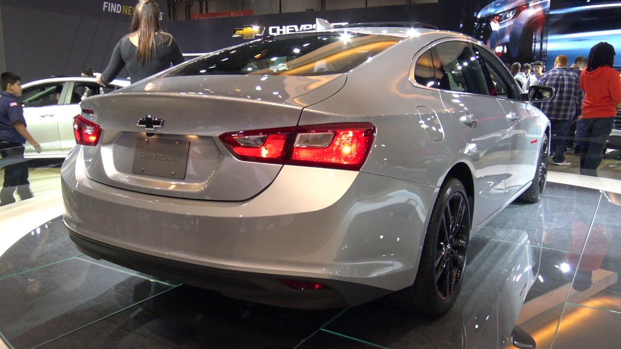 2018 Chevrolet Malibu Redline Edition - YouTube