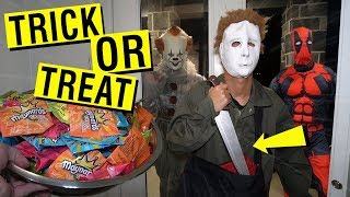 DO NOT PASS CANDY ON HALLOWEEN DAY AT 3 AM!! (HE GOT TAKEN)