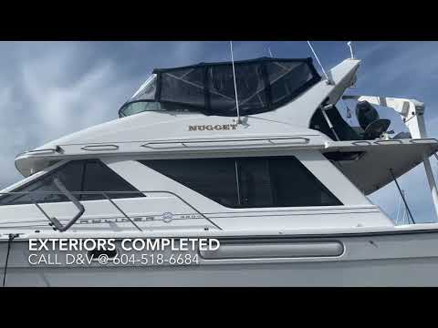 Interiors & Exteriors of a Large Boat