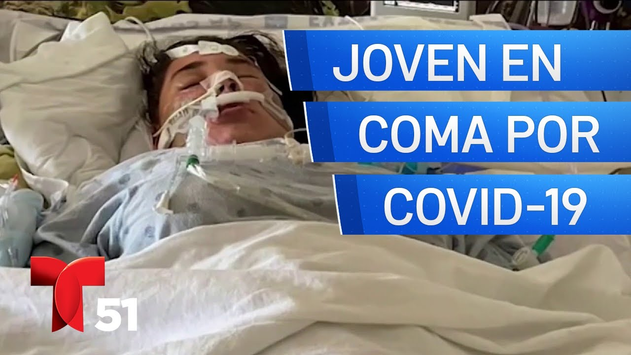 Adolescente hispana del sur de la Florida está en coma por COVID-19