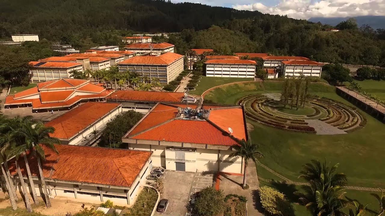 Universidad Simon Bolivar desde lo Alto - YouTube