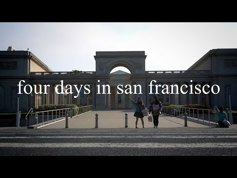 THE TOURISTS IN SAN FRANCISCO // OAKLAND // CA - A travel short