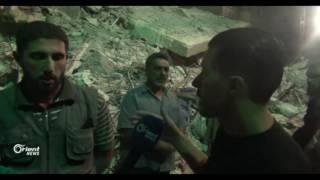 إرتفاع حصيلة مجزرة عين ترما في الغوطة الشرقية