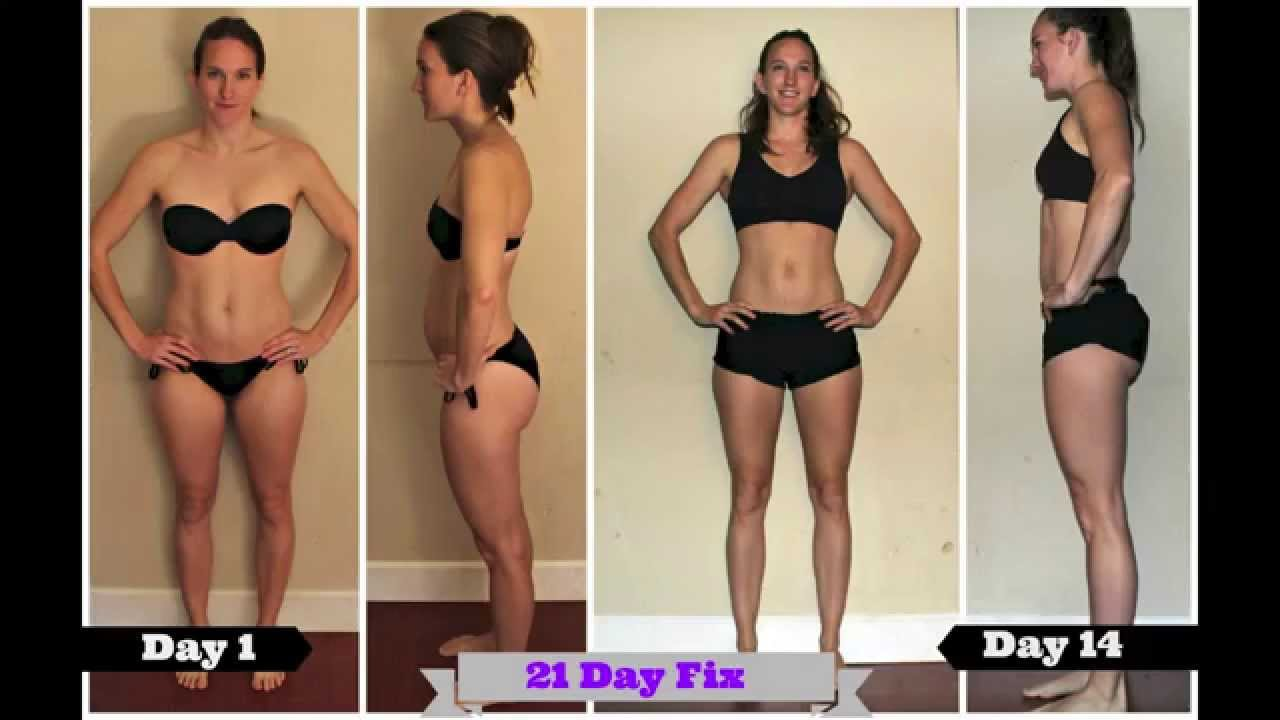 21 Day Fix Results Fitness Youtube