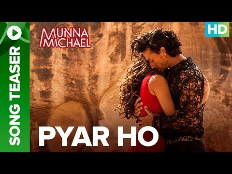 Pyar Ho - Song Teaser   Full Song Live Exclusive on ErosNow   Tiger Shroff & Niddhi Agerwal