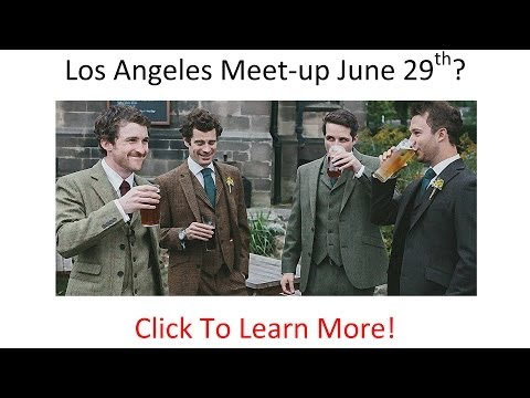 Men's Style Meet-up in Anaheim, CA June 29th - You're Invited - Top Lifestyle Bloggers Attend