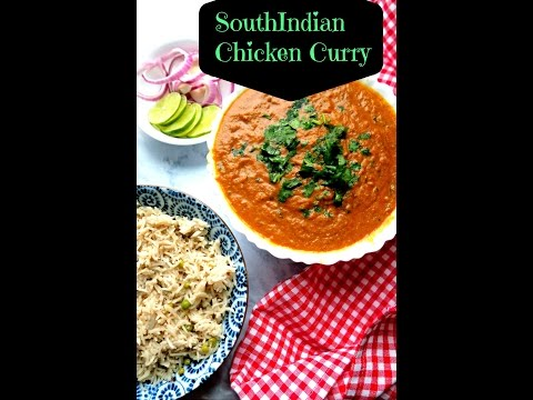SouthIndian Chicken Curry / Indian Chicken Curry Recipes