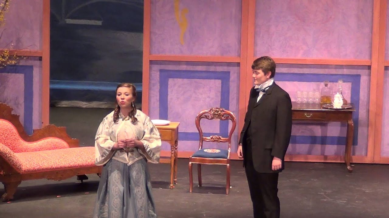importance of being earnest act 1 The importance of being earnest is filled with dramatic and verbal irony the one dramatic piece of irony that stood out to me most was when cecily and gwendolyn tell.