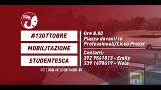 Mobilitazione Rete Studenti Medi Umbria 13 Ottobre 2017