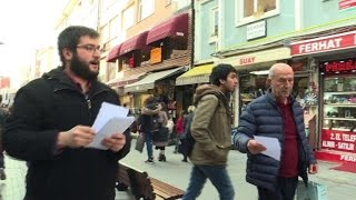 'No' supporters campaign ahead of Turkish referendum