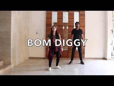 BOM DIGGY | PASSION STRUCKK | BOLLYWOOD DANCE | ZACK NIGHT & JASMIN WALIA
