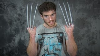 Repeat youtube video Cosplay Chris Creates: Wolverine Claws