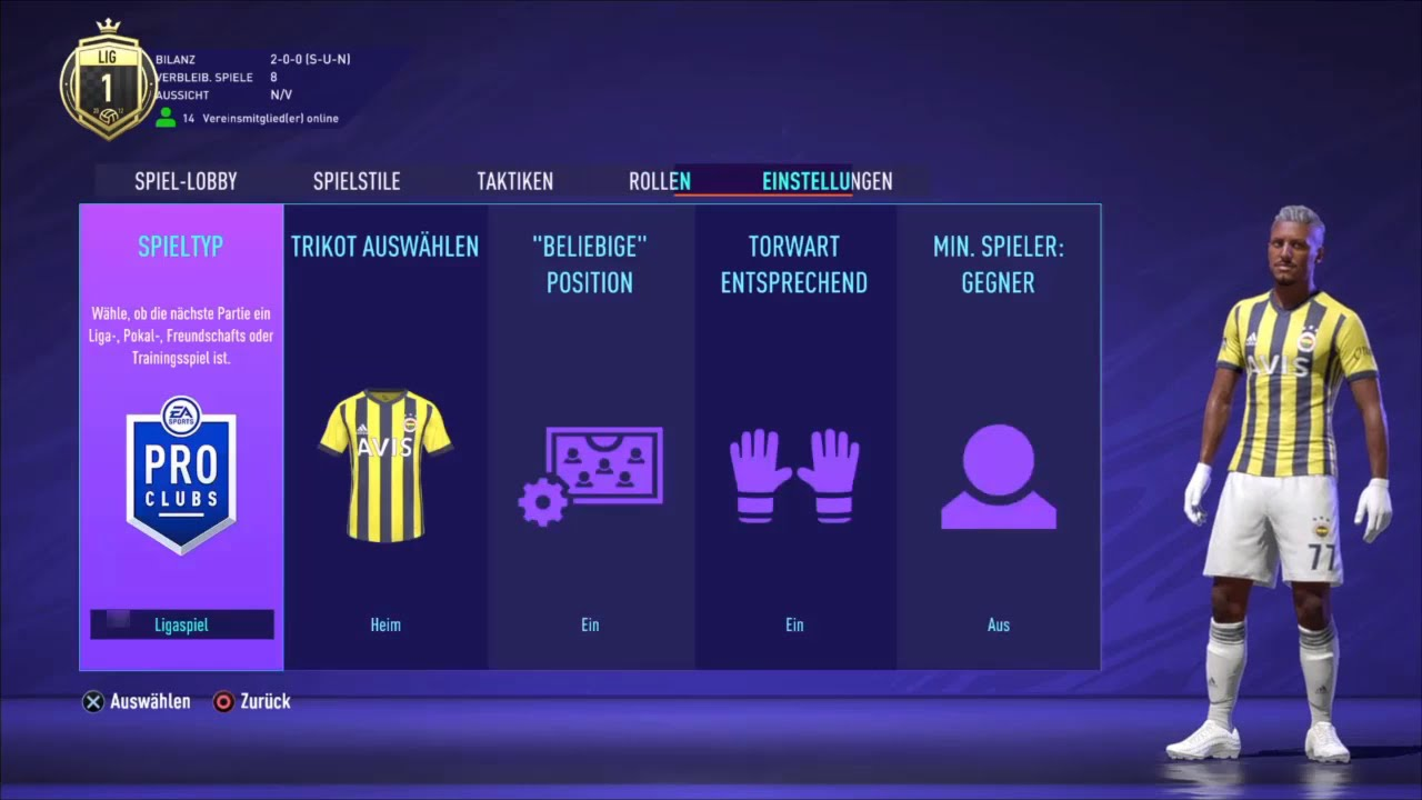 FIFA | Team Aurora - 1907 Fenerbahçe Espor | Pro Elite League
