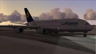 FS2004 - Flight from Frankfurt / Main to Chicago-O