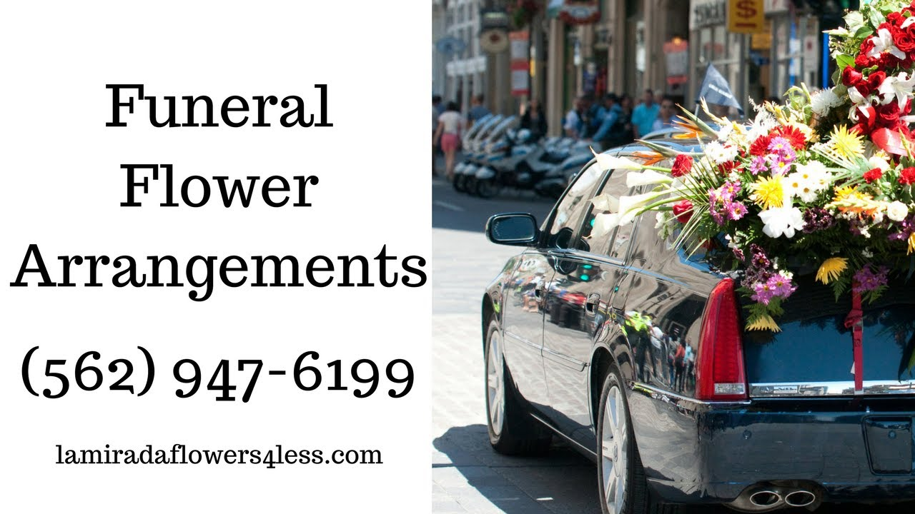 Cheap Funeral Flower Arrangements Montebello Free Delivery Youtube
