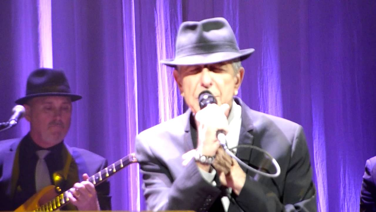 Download Leonard Cohen - Come Healing - Centre Bell, Montreal - 28-11-2012