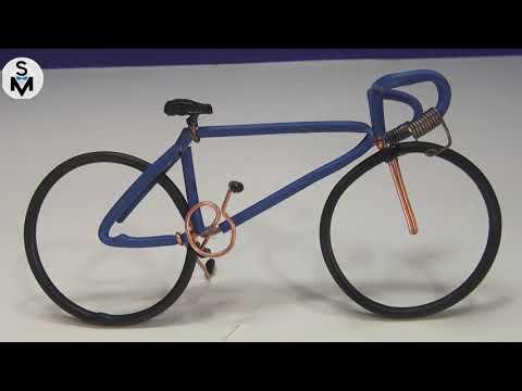 DIY Realistic Miniature Bicycle