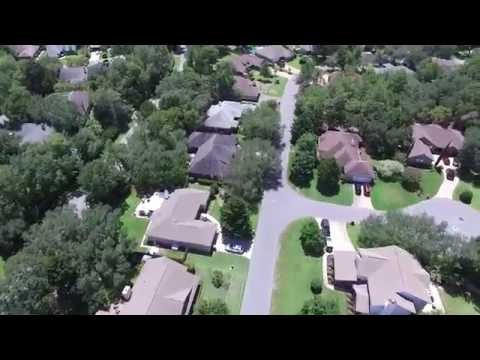 Niceville's Bluewater Bay Florida Aerial Video - DJI P3A
