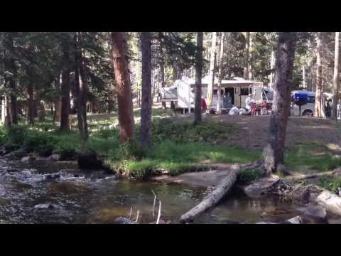 Middle Fork Campground / Bighorn National Forest