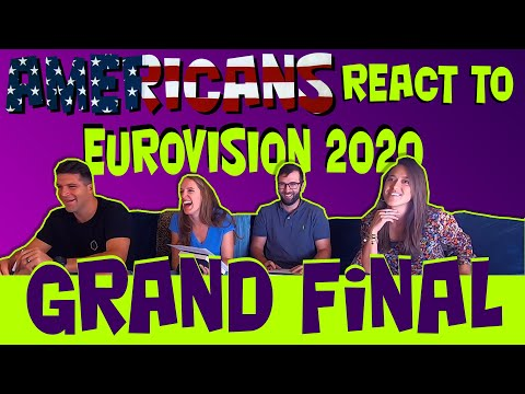 Americans React To Eurovision 2020: The Grand Final