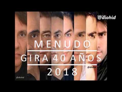 Menudo, Gira 40 años 2018