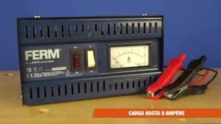 FERM Cargador de Batería - 6V/12V | BCM1021