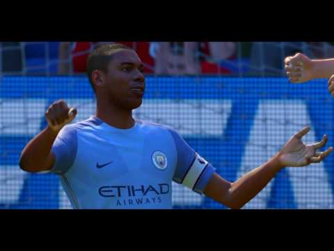 Fifa 17 Manchester City 4 - 1 Manchester United