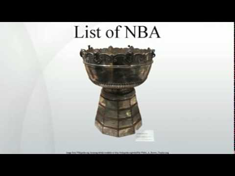List of NBA champions