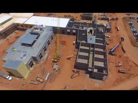 BSHS Construction Site Fly-Through 6-21-18