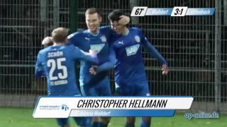 FC-Astoria Walldorf gegen OFC: Tore und Höhepunkte