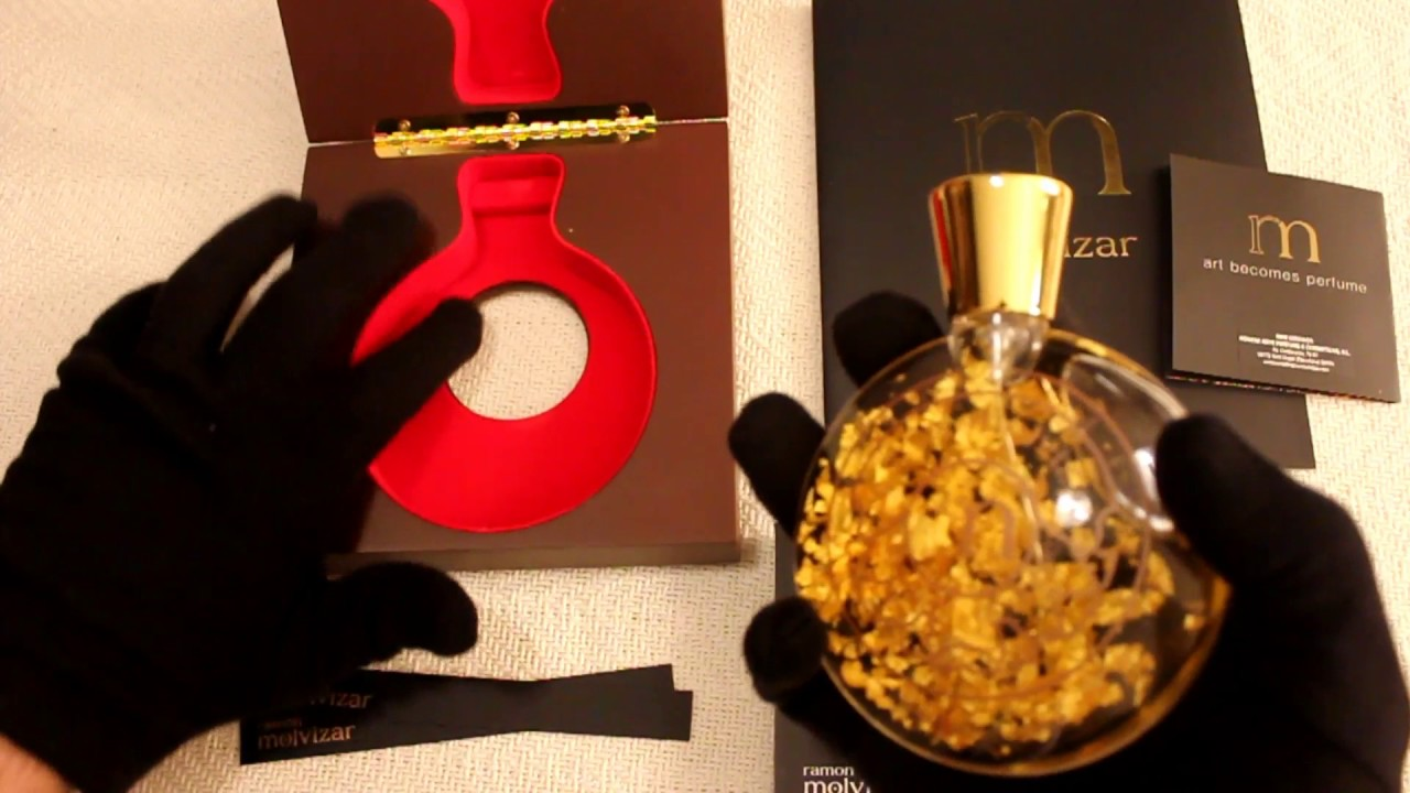 Every Gentleman S Must Have Ramon Molvizar Art Gold Perfume Review And Unboxing Youtube