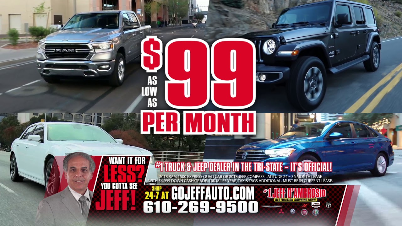 Jeff D Ambrosio Has All Your Vehicle Needs Youtube