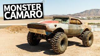 Insane 650HP LS Powered Monster Truck Chevy Camaro Build