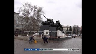 Нижний Новгород начали готовить к празднованию Дня Победы