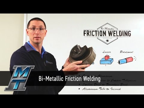 MTI Whiteboard Wednesdays: Bi-Metallic Friction Welding