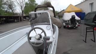 Алюминиевая лодка UMS-410 с мотором Suzuki DF-20ATL на лафете UMS-48PRO(Продается комплект Алюминиевая лодка UMS-410 + лодочный мотор Suzuki DF-20ATL + лафет UMS-48PRO ..., 2015-04-29T14:53:19.000Z)