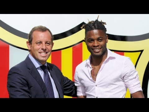 Alex Song to Barcelona!