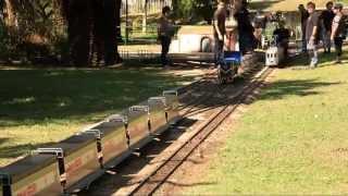 Timelapse del muntatge dels trens