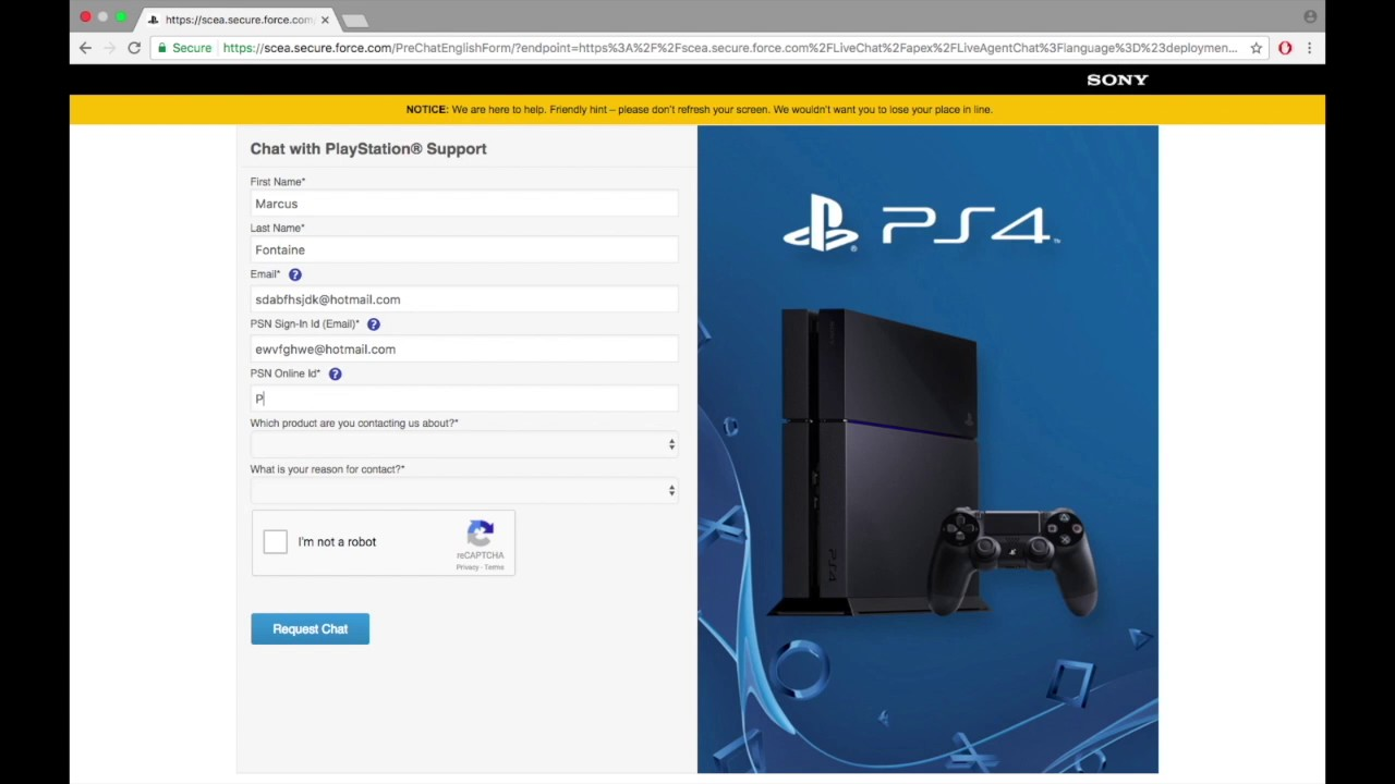 How To Get Psn Account Back Without Email And Password