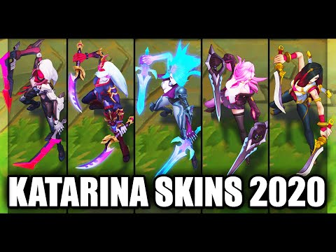 All Katarina Skins Spotlight 2020 (League of Legends)