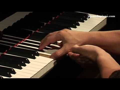 Cours de piano - La position de la main par Marie-Josèphe Jude