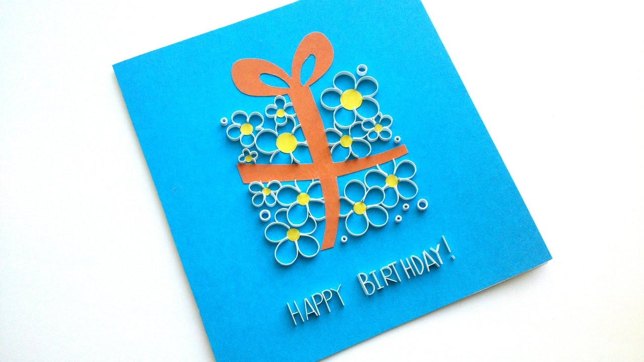 birthday card images handmade