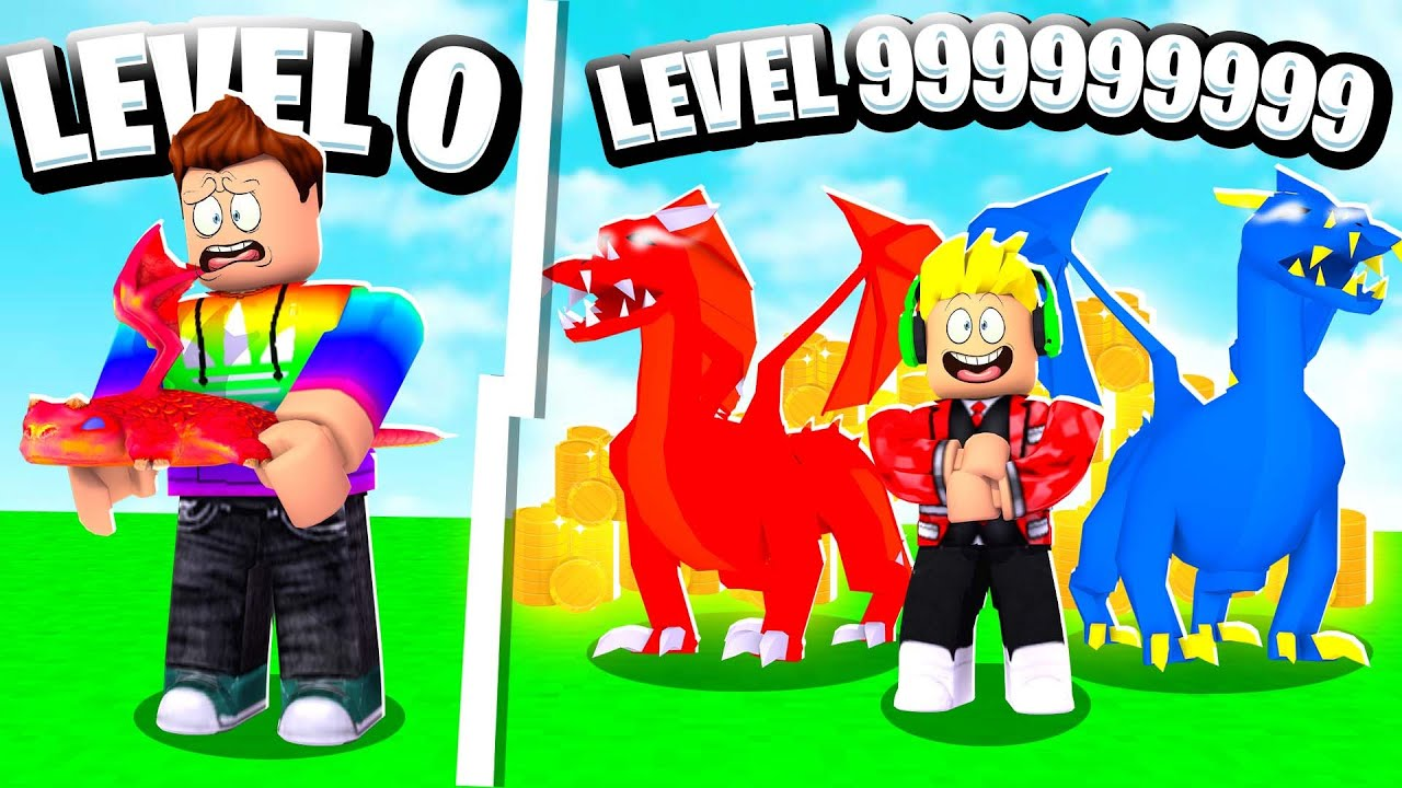 Father VS Son 999,999,999 ROBLOX DRAGON TYCOON