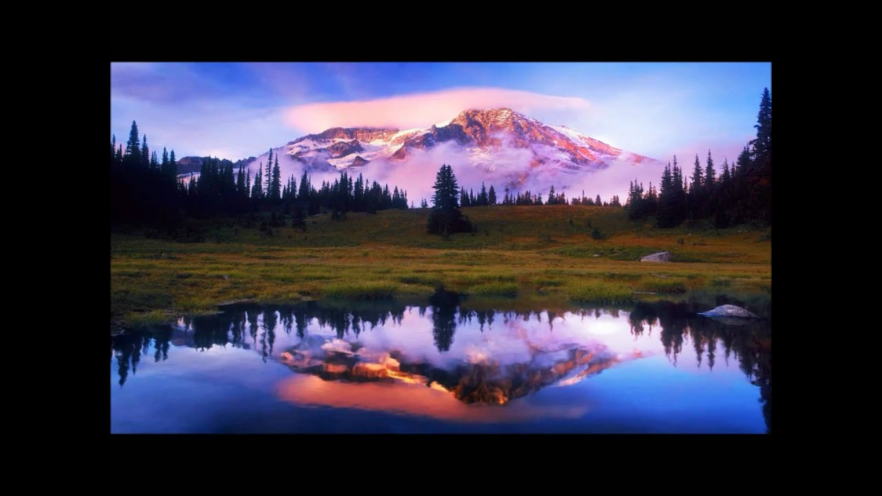 Animation Hd Wallpapers 1080p Windows Dream Scene Mountain 1080p Hd Youtube