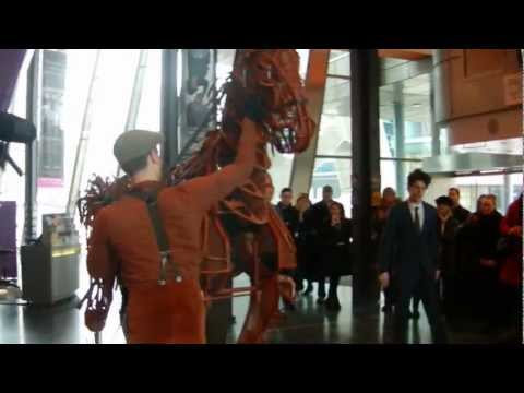 Joey War Horse arrives at The Lowry Theatre